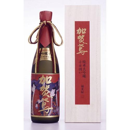 日本酒 純米大吟醸 加賀鳶千日囲い錦絵ラベル 720ml