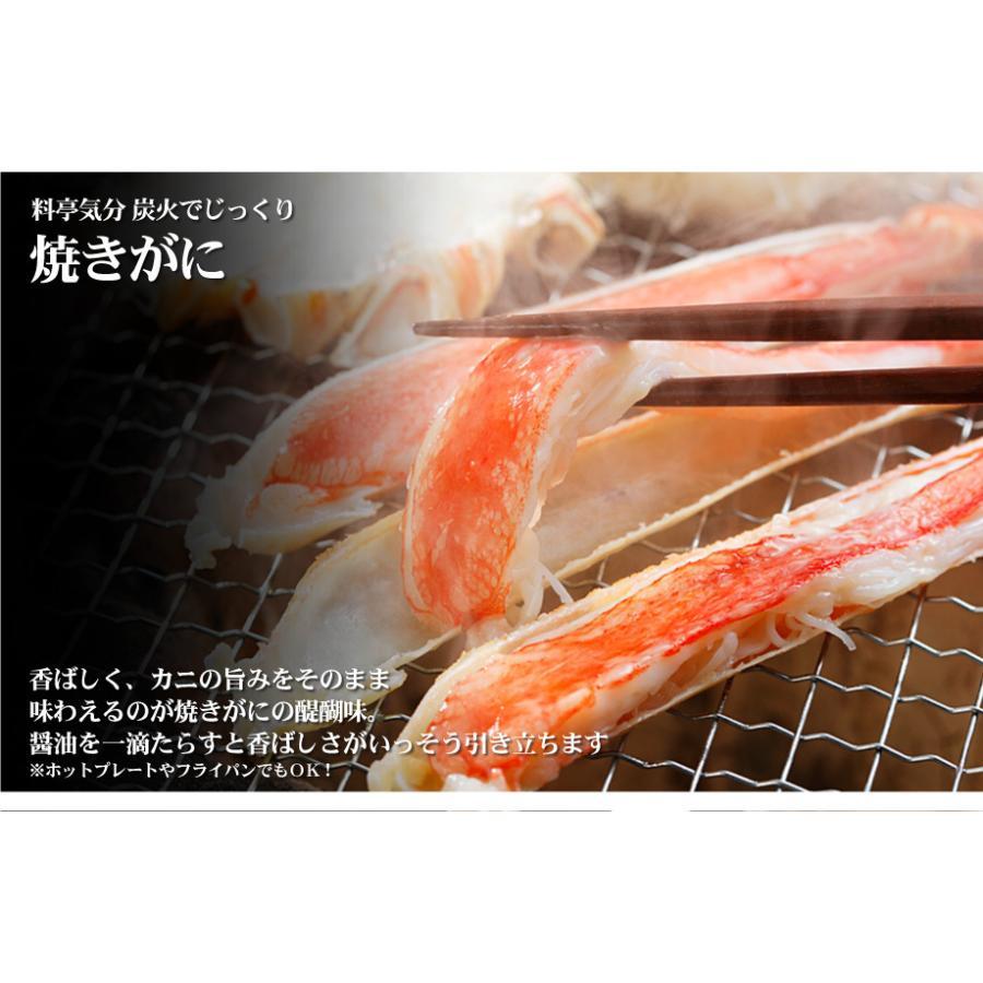 かに カニ 蟹 生 ずわいがに 800g カット済み お刺身OK かにしゃぶ 化粧箱入 ギフト kitauroko 10