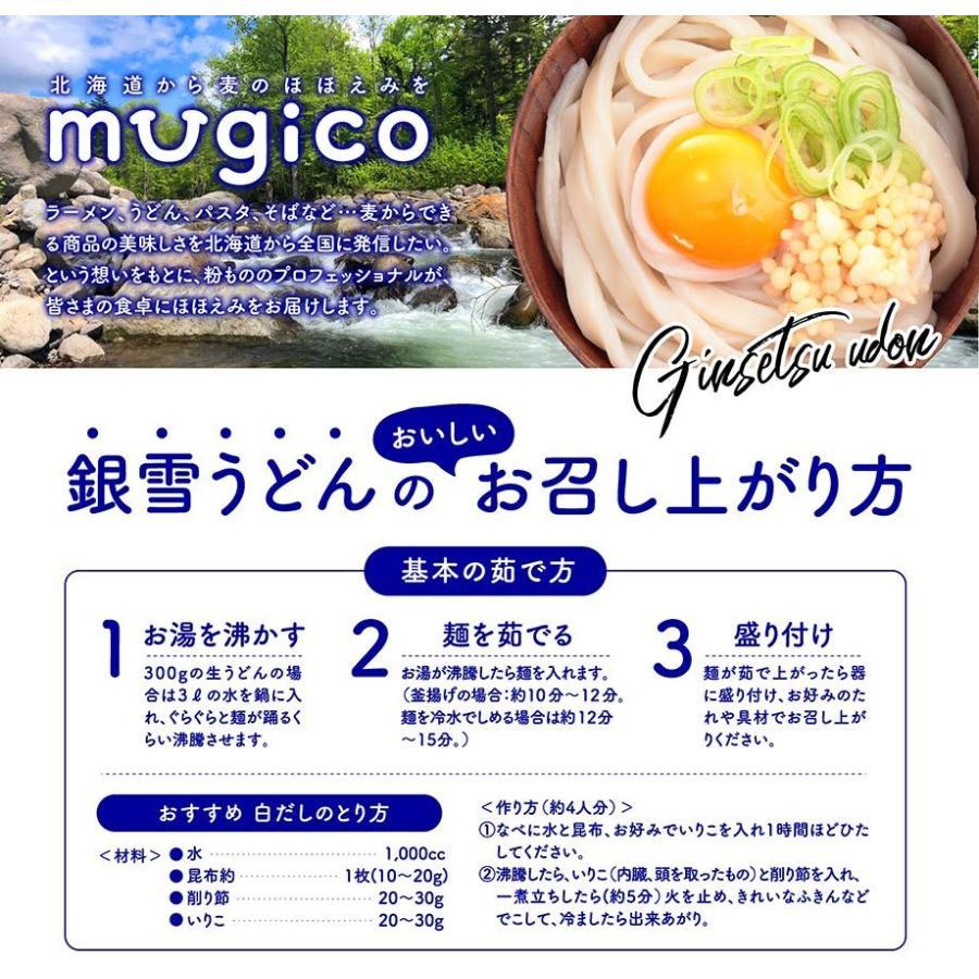 うどん 100g 2玉入 北海道産小麦100パーセント 麺のみ 2セットご注文でさらに2玉おまけ kitauroko 08