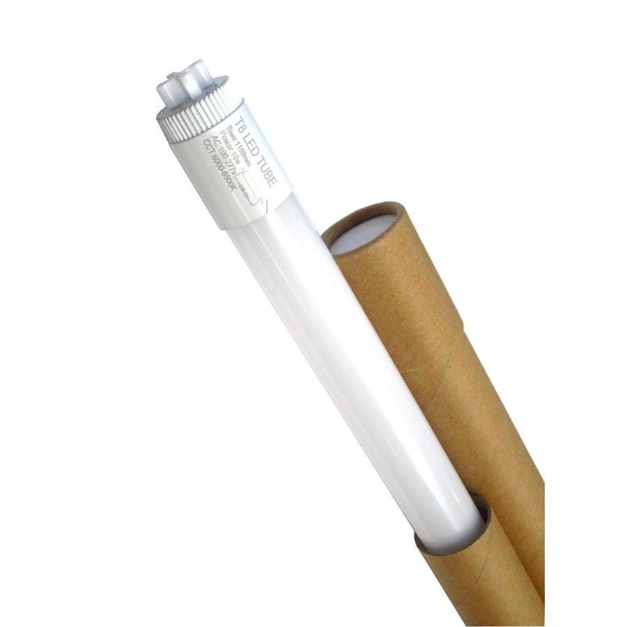 エネセーフ 40W蛍光灯用代替LED蛍光灯ランプ18W 1200mm 6500K(純白色)25本