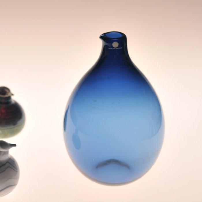 イッタラ i-401 ティモ・サルパネヴァ バードボトル ブルー ビンテージ vintage ヴィンテージ