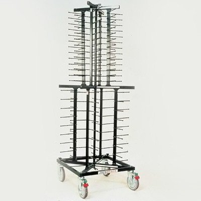 プレートディスペンサー(移動式) ジャックスタック JS088 600×600×H1790mm
