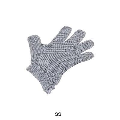 ニロフレックス 2000メッシュ手袋 5本指(片手)(オールステンレス) SS SS5-NV(0)