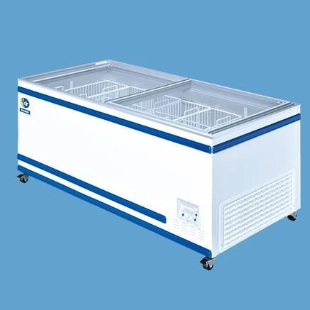 送料無料 新品 ダイレイ 冷凍冷蔵切替式ショーケース GTXS-76 460L