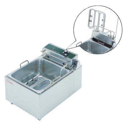 送料無料 押切電機 卓上型 電気フライヤー(ミニタイプ) スイングタイプ OFT-300