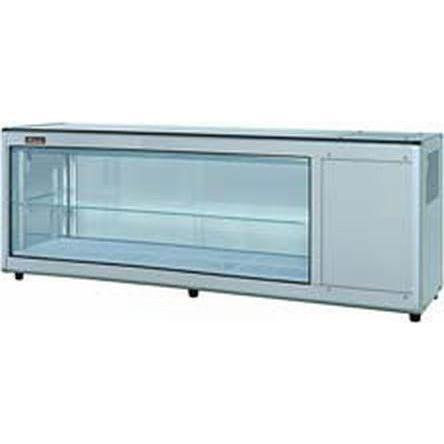 送料無料 新品 ネスター 冷蔵ディスプレイケース 片面スライド(132L 右ユニット)RDC-151R405