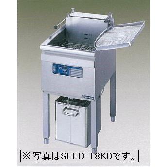 送料無料 新品 ニチワ電機 電気フライヤー (27L) SEFD-27KD