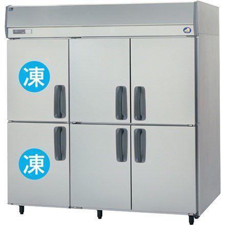 送料無料 新品 パナソニック(旧サンヨー) 2冷凍4冷蔵庫 W1785*D650*H1950mm SRR-K1861C2 (旧 SRR-J1861C2VA)