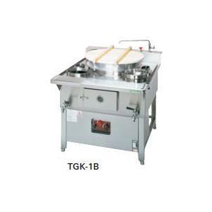 送料無料 新品 タニコー ガス生そば釜W600*D11500*H780 TGK-1B