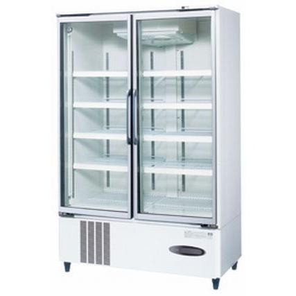送料無料 新品 ホシザキ リーチイン冷蔵ショーケース (白) USR-120X3-1 受