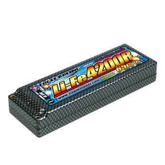 イーグル模型 Li-FeバッテリーEA4200R/6.6V 65C+α・ハードケース仕様 品番3662V2-U