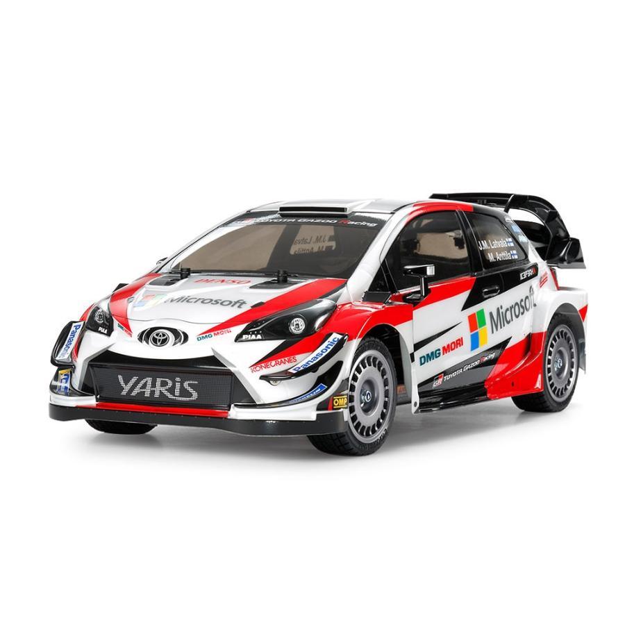 タミヤ 1/10RC トヨタ ガズー レーシング WRT/ヤリス WRC(TT-02シャーシ) 品番58659