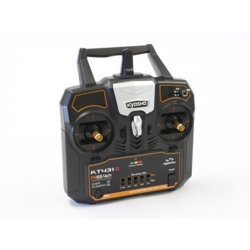 京商 2.4GHz デジタルプロポーショナルラジオコントロールシステム シンクロ KT-431S 4ch Tx/Rxセット(モード1) #82431M1