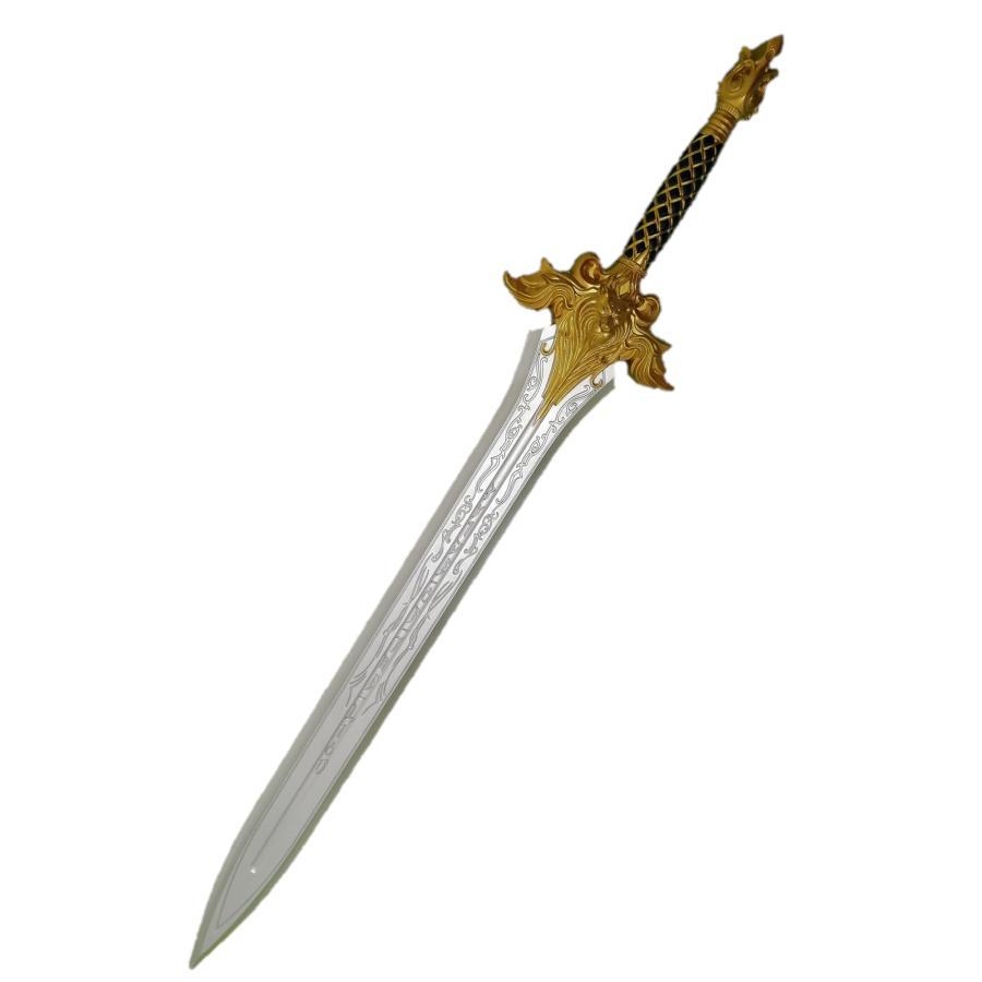 西洋剣 洋剣 刀 剣 103cm コスプレ Lion King Sword 英雄 勇者 ライオン 国王 王様 道具 武器 風ソード ウォークラフト Warcraft WoW kiumibaby
