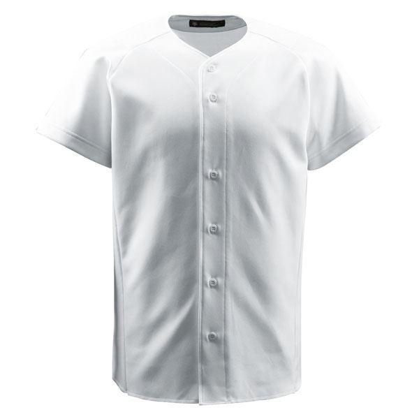 【直送】デサント(DESCENTE) ジュニアフルオープンシャツ (野球) JDB1011 Sホワイト 160