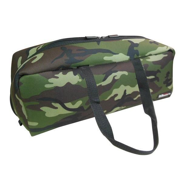 【直送】(業務用20セット)DBLTACT トレジャーボックス(作業バッグ/手提げ鞄) Lサイズ 自立型/軽量 DTQ-L-CA 迷彩 〔収納用具〕