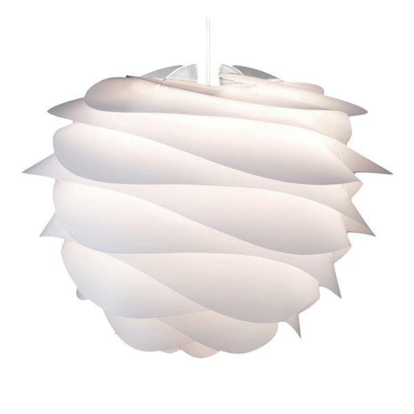 【直送】ペンダントライト/照明器具 〔1灯〕 北欧 ELUX(エルックス) VITA Carmina ホワイト(白)/ホワイトコード 〔電球別売〕