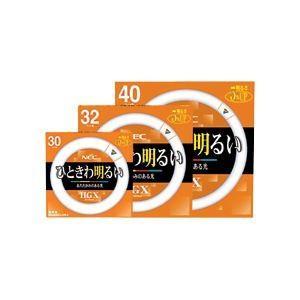 【直送】NEC 蛍光ランプ ライフルックHGX環形スタータ形 32W形 3波長形 電球色 FCL32EX-L/30-X 1セット(10本)