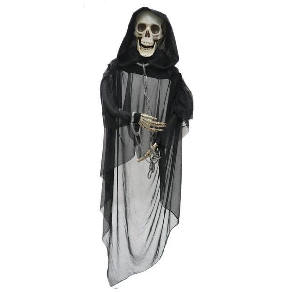 【直送】コスプレ衣装/コスチューム 〔光る ブラックリーパー 150cm〕 『Uniton』 〔ハロウィン イベント〕