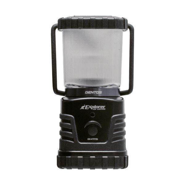 【直送】ジェントス LEDランタンExplorer LEDランタンExplorer 360Lm 防滴仕様 EX-V777D 1個〔×3セット〕