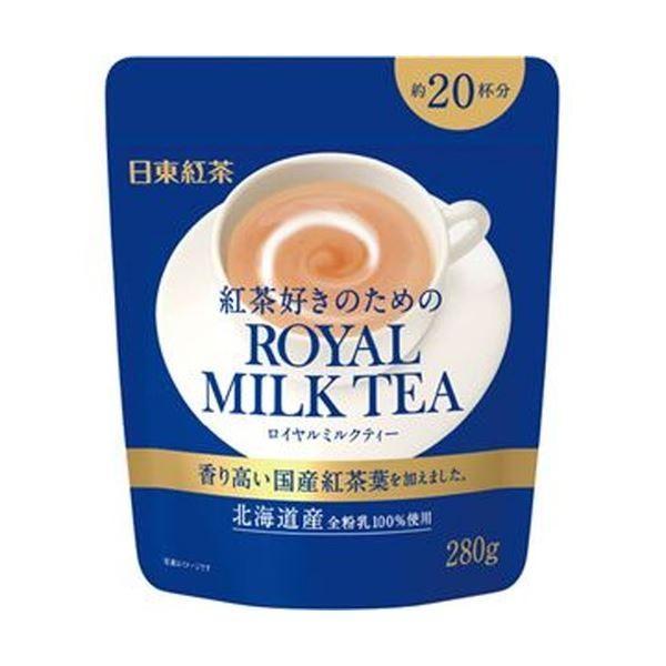 (まとめ)日東紅茶 ロイヤルミルクティー280g/パック 1セット(3パック)〔×10セット〕
