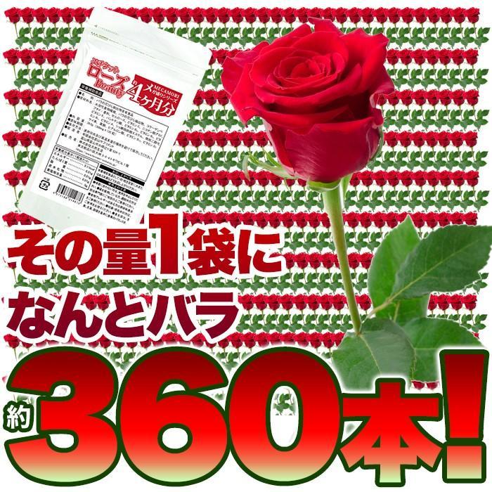 ローズ サプリ ローズビューティー 国産 日本製  サプリメント 送料無料 大量 ポイント消化  約4ヵ月分 〔120日分×1袋〕 〔メール便出荷〕|kiwami-honpo|07