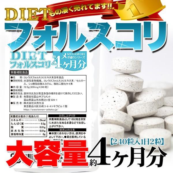 フォースコリー サプリ 国産 日本製 フォルスコリ ダイエット サプリメント 送料無料 大量 ポイント消化  約4ヵ月分 〔120日分×1袋〕 〔メール便出荷〕 kiwami-honpo 05