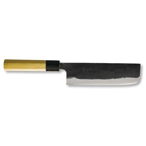 團十郎 菜切包丁 西型 170mm kiya-hamono