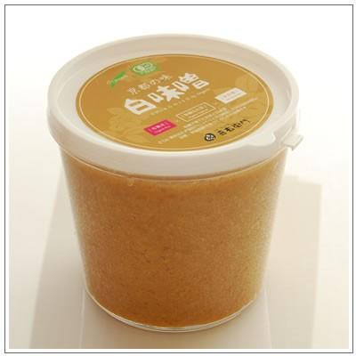 オーガニック/京都 喜右衛門・京都の味 有機白味噌 1kg kiyomon 02