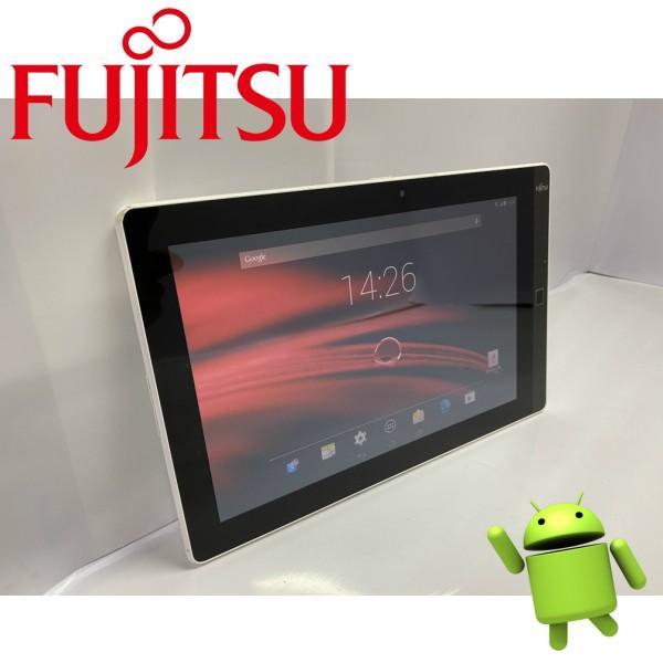 中古富士通タブレット防水 防塵 Android 4.4 Fujitsu Arrows Tab M555/KA4 10.1型 解像度(1280x800)  2GB 32GB 無線LAN Bluetooth|kiyoshishoji|03