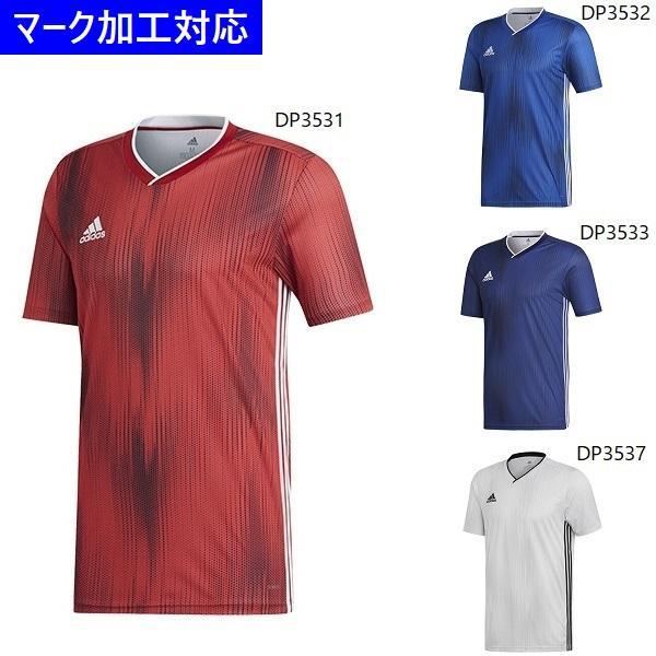 アディダス ユニフォーム 半袖ゲームシャツ TIRO19/マーク付き