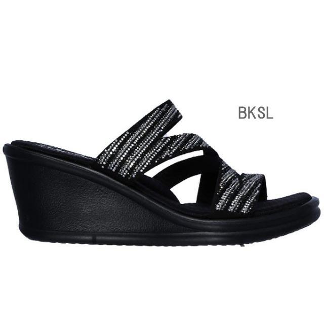 スケッチャーズ SKECHERS 32925 RUMBLERS-MEGA FLASH サンダル レディース 婦人 BKSL ブラック/シルバー WSL ホワイト/シルバー 靴 kksimple 02