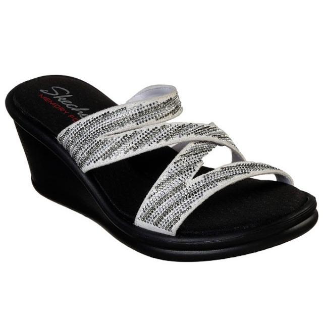 スケッチャーズ SKECHERS 32925 RUMBLERS-MEGA FLASH サンダル レディース 婦人 BKSL ブラック/シルバー WSL ホワイト/シルバー 靴 kksimple 04