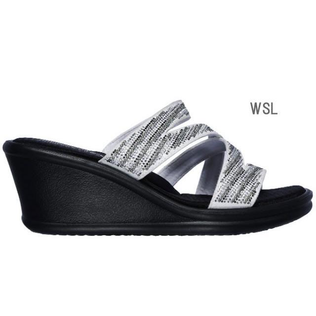 スケッチャーズ SKECHERS 32925 RUMBLERS-MEGA FLASH サンダル レディース 婦人 BKSL ブラック/シルバー WSL ホワイト/シルバー 靴 kksimple 05