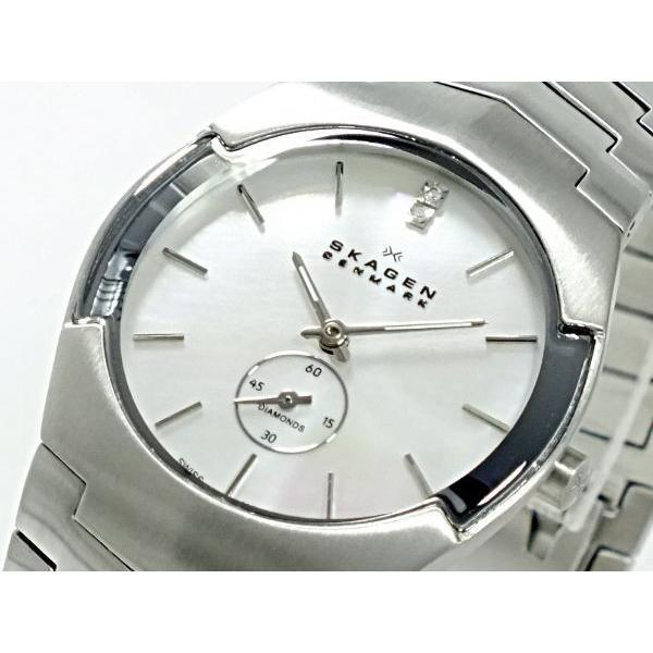 【完売】  スカーゲン SKAGEN 腕時計 レディース 580SSXD1, あかりとり窓 2579a7ed
