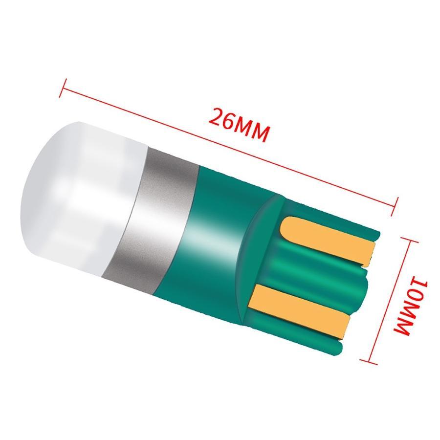LED T10 T13 T15 T16 汎用 選べる5色 5W 1SMD キャンセラー付き 150LM 12V/24V 無極性 2個セット ウインカー 送料無料 3ヶ月保証|km-serv1ce|07