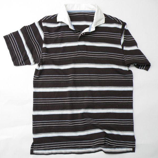 型紙  メンズ ラガーシャツ半袖&長袖 ニット生地向けカット済みパターン|knit-yamanokko|03
