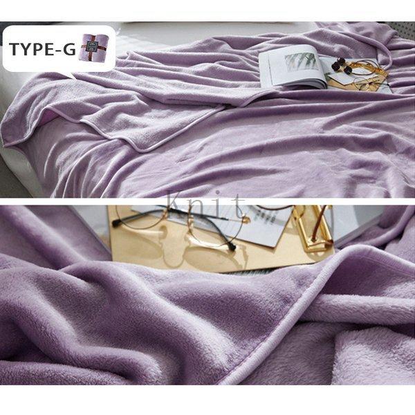 ブランケットダブルサイズ北欧ベイクドカラー無地マイクロファイバーフリースふわふわ毛布寝具おしゃれ暖かい薄手軽量洗える|knit|21