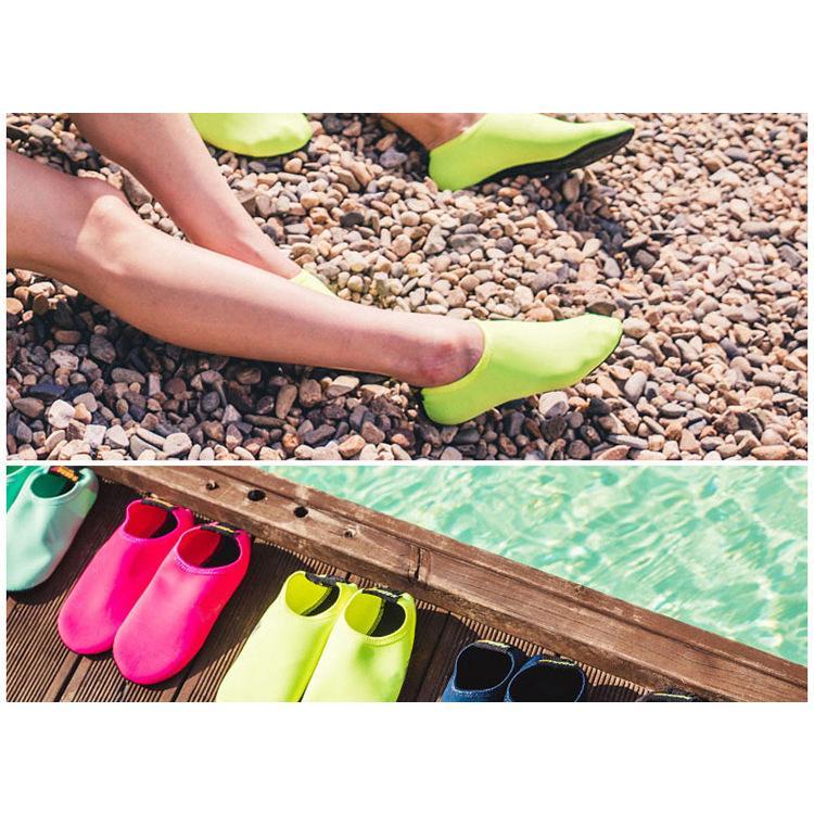 マリンシューズ アクアシューズ ダイビング ソックス フィンソックス 滑り止め 軽量 男女兼用 靴 砂浜 ビーチ|knit|04