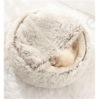 ペットハウス ペットベッド 猫ベッド 猫用ベッド ネコベッド ペット用品 暖かい ベッド ねこ用ベッド おしゃれ テント型 冬用|koaranoie|02