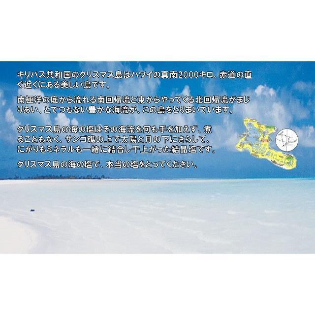 クリスマス島の海の塩  300g|kob-store|02