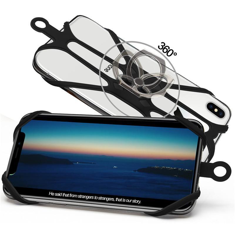スマホ ネックストラップ シリコン 首掛け 固定 ホルダー 携帯 スマートフォン ビジネス アウトドア 落下防止 スマホアクセサリー ストラップ kobayashiya 12