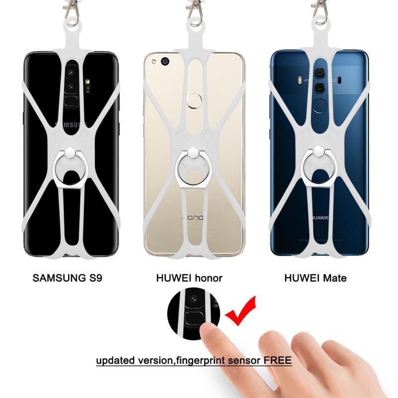 スマホ ネックストラップ シリコン 首掛け 固定 ホルダー 携帯 スマートフォン ビジネス アウトドア 落下防止 スマホアクセサリー ストラップ kobayashiya 19