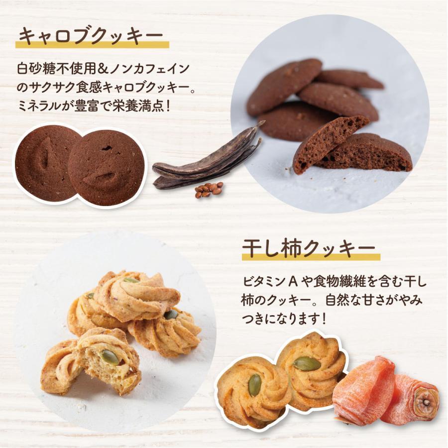 スイーツ クッキー ギフト クッキー缶 ベジボックス ソフトベジボックス ベジクッキー プレゼント 健康 お礼 お取り寄せギフト|kobe-patico|12