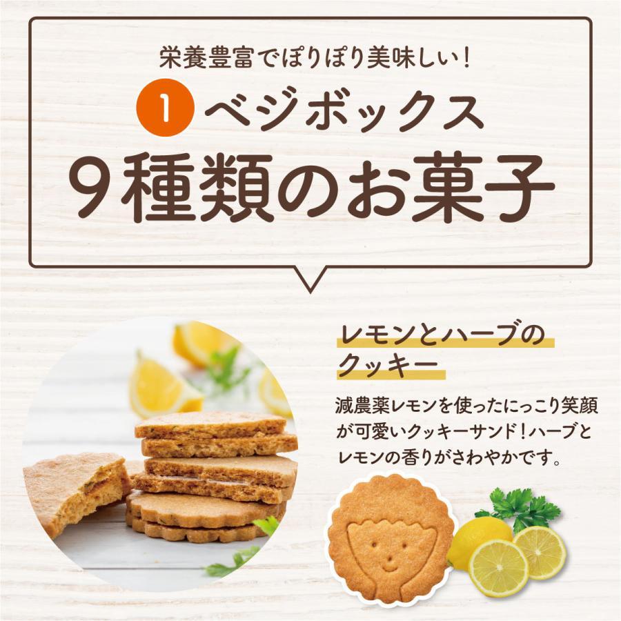 スイーツ クッキー ギフト クッキー缶 ベジボックス ソフトベジボックス ベジクッキー プレゼント 健康 お礼 お取り寄せギフト|kobe-patico|06
