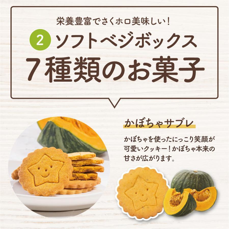 スイーツ クッキー ギフト クッキー缶 ベジボックス ソフトベジボックス ベジクッキー プレゼント 健康 お礼 お取り寄せギフト|kobe-patico|10