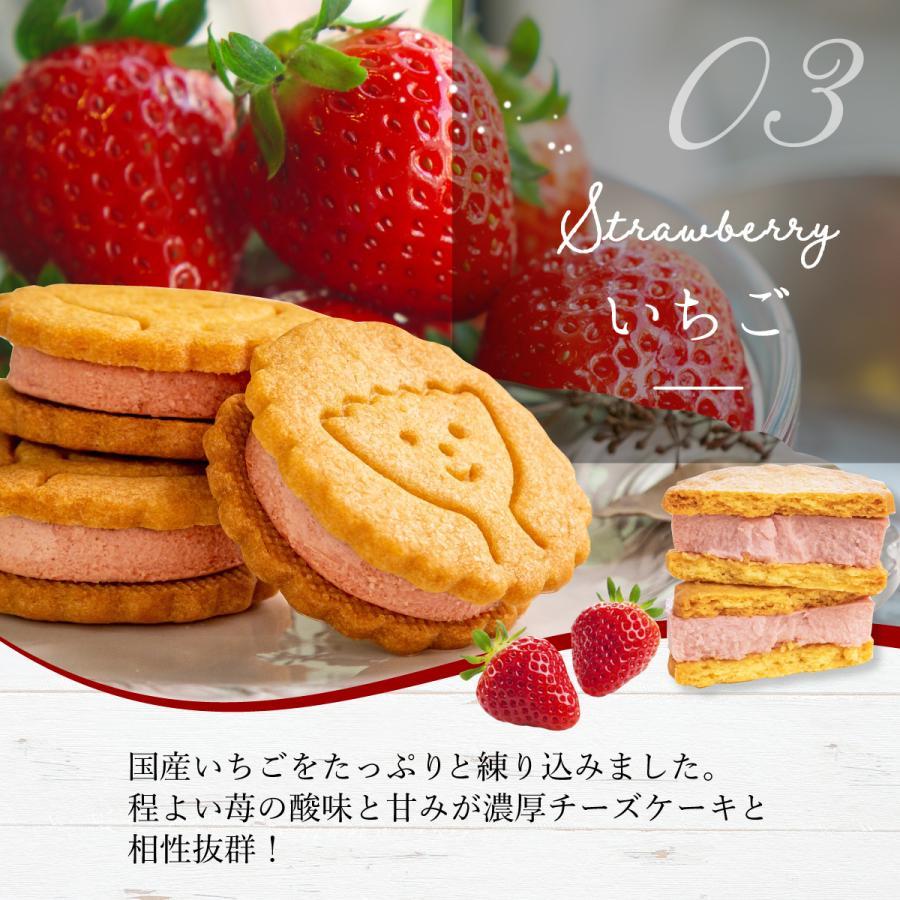 ギフト お菓子 ギフト チーズケーキサンド 【5個入】 クッキー チーズケーキ クッキーサンド お取り寄せ お礼 プチギフト|kobe-patico|06