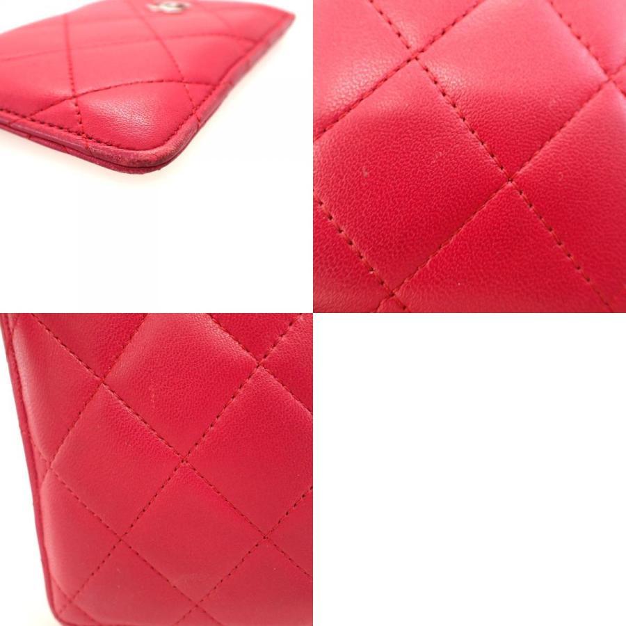 【中古】 シャネル マトラッセ  カードケース パスケース 名刺入れ ローズピンク  15番台 CHANEL【質屋】【代引き手数料無料】|kobe78genroku|10