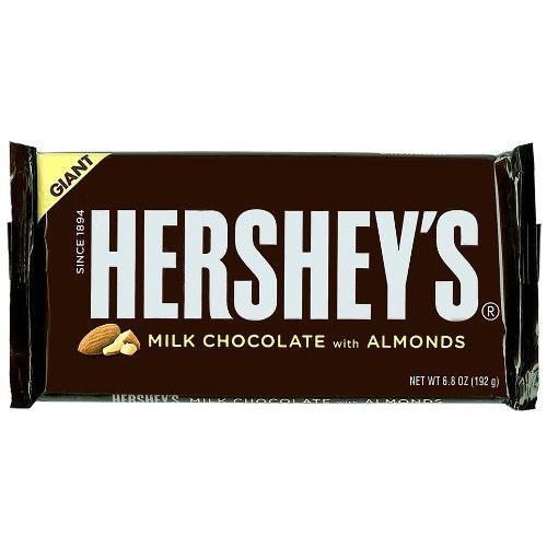 ハーシー ジャイアントミルクチョコレートウィズアーモンド192g|kobegrocers