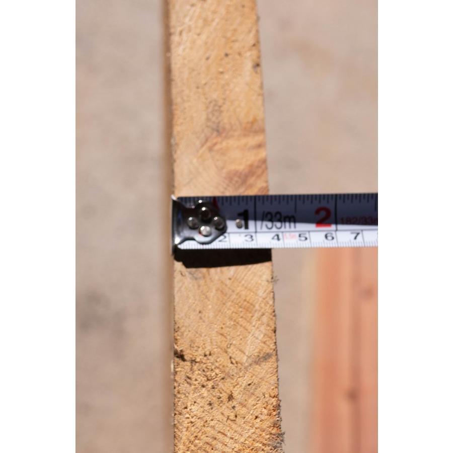 【桧板】【1点もの】桧材 無垢板 節有り 長さ1000mm 厚み37mm 幅390mm 1枚 荒削り 片耳付き 割れあり kobikiya 04